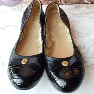 New Tahari Black Ballet Slippers